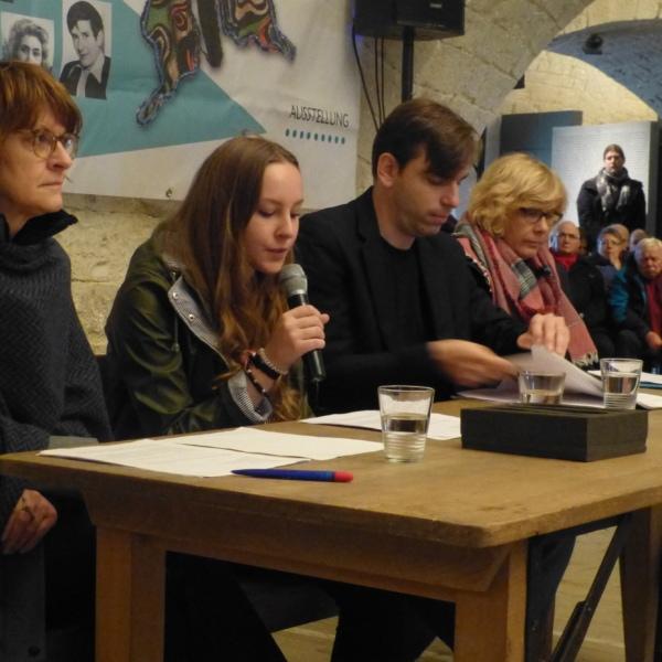 """Ausstellungsprojekt """"Frauen im Widerstand"""" (2016)"""