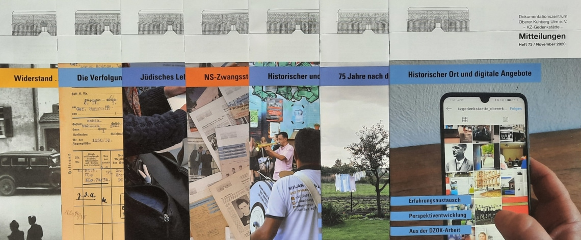 """Mitteilungen 73: """"Historischer Ort und digitale Angebote"""""""