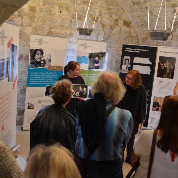 """Ausstellungsprojekt """"Jüdische Lebenswelten"""" (2018)"""